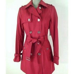 NWOT Calvin Klein Trench Coat